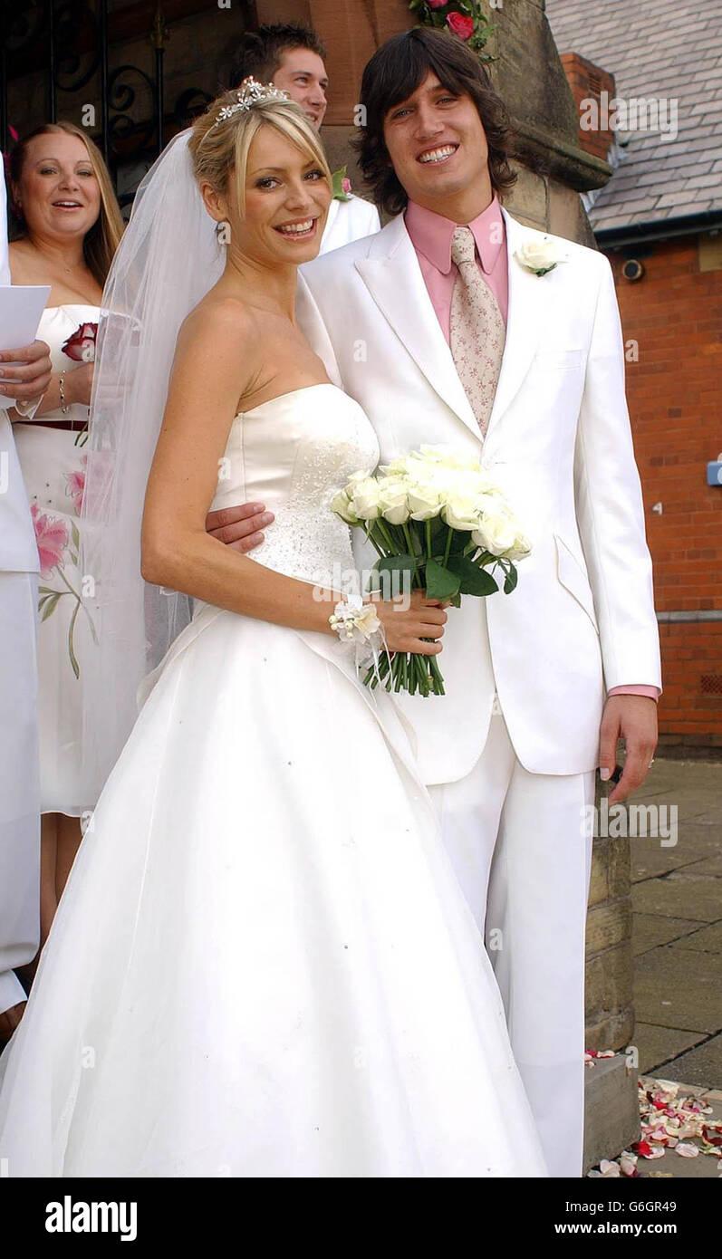 WEDDING - VERNON Kay & TESS DALY Stock Photo: 107319529 - Alamy