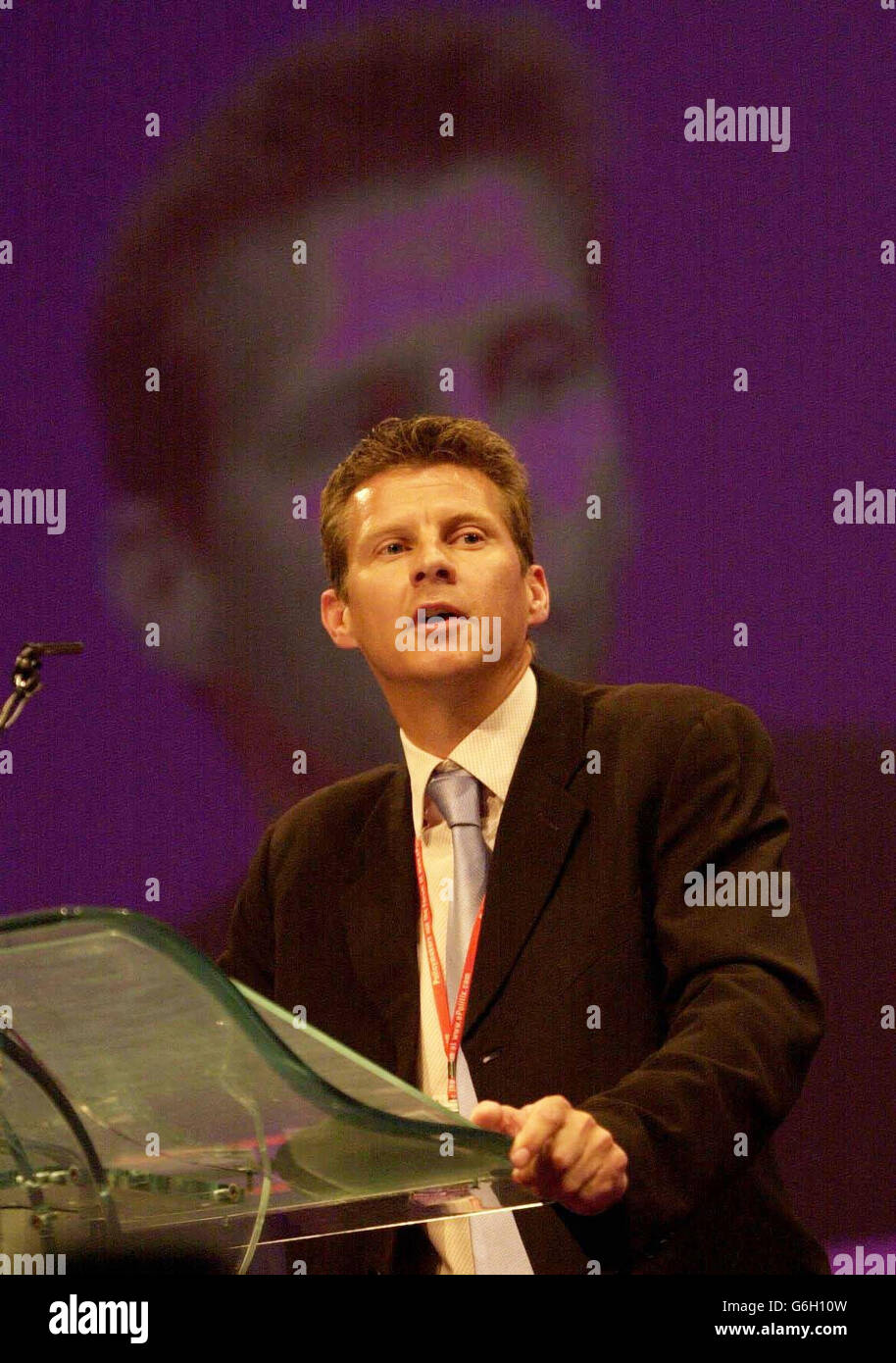 LABOUR Conference Cram - Stock Image