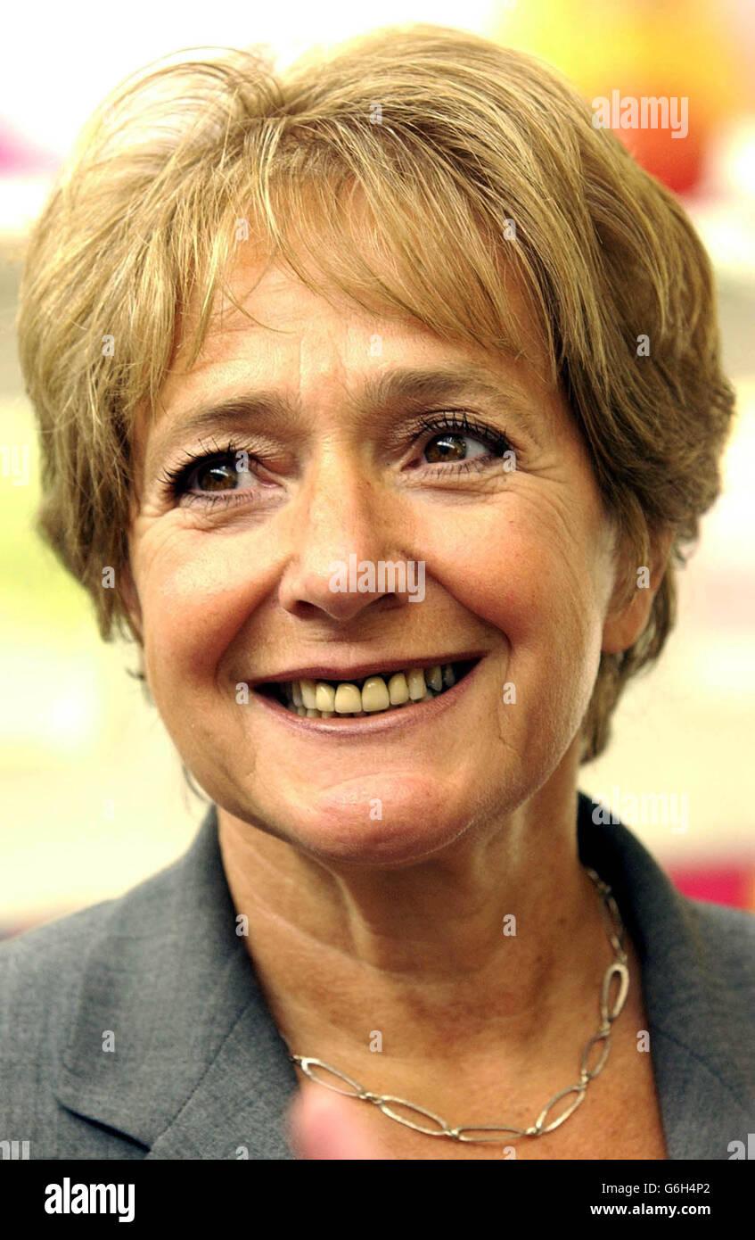 Children's Minister Margaret Hodge - Stock Image