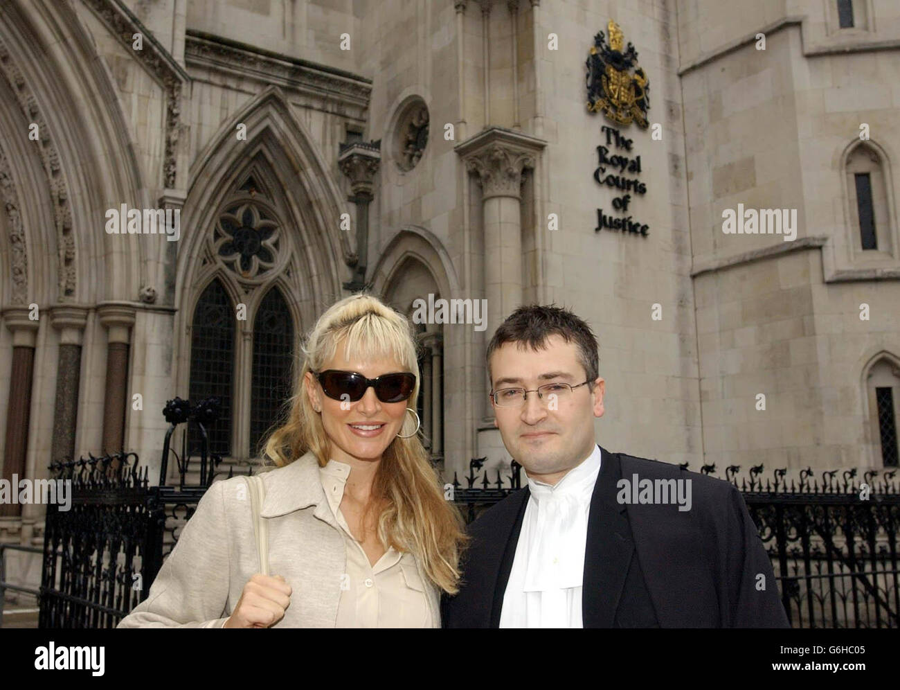 Caprice in the High Court - Stock Image