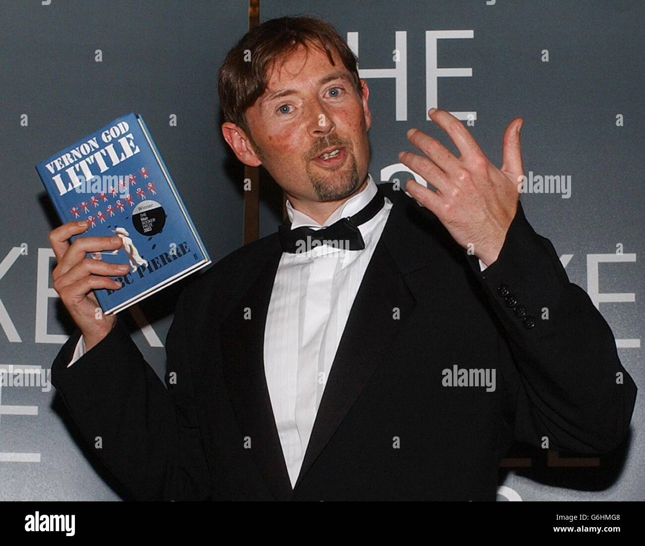 Peter Finlay - Booker Prize - Stock Image