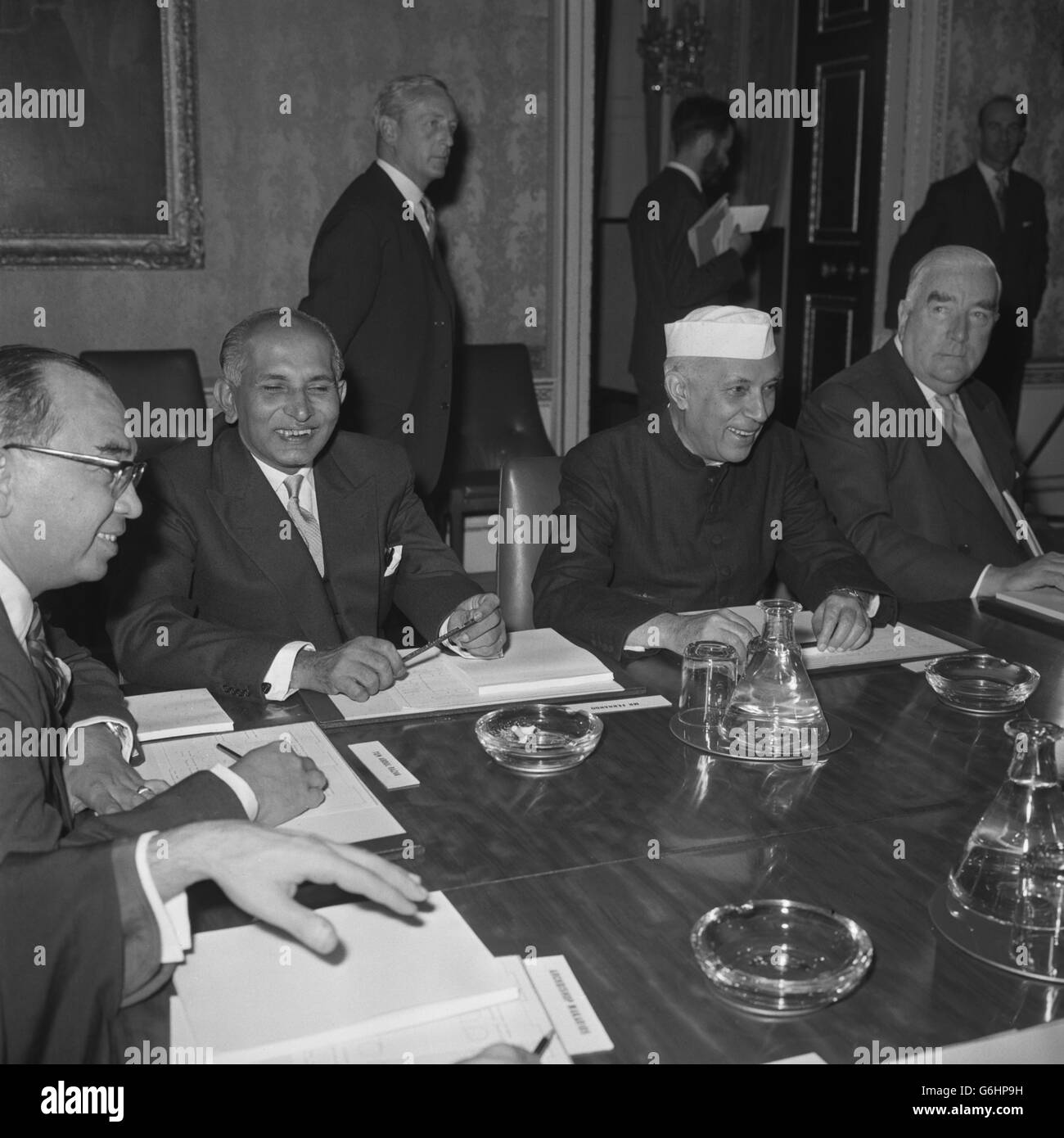 Politics - Commonwealth Prime Minister Conference - Marlborough House, London Stock Photo