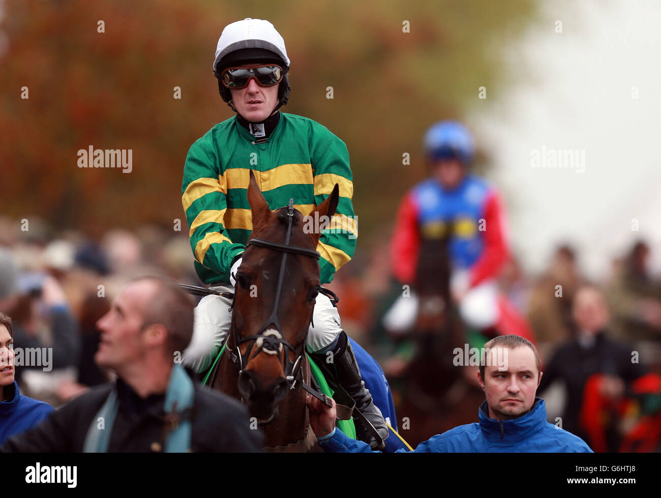Horse Racing - The Open Festival 2013 - Countryside Day - Cheltenham Racecourse - Stock Image