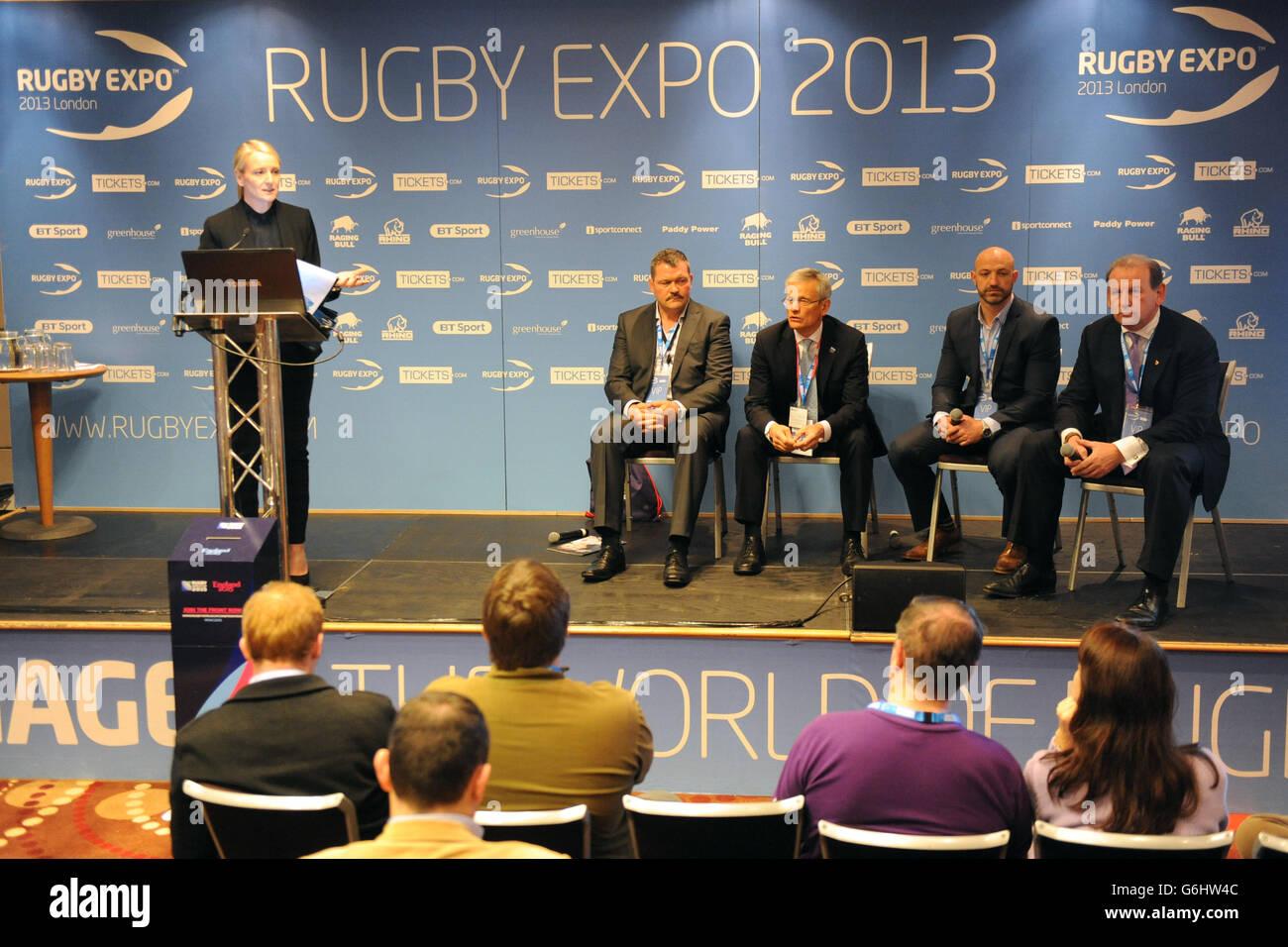 Rugby Expo 2013 - Day Two - Twickenham Stadium - Stock Image