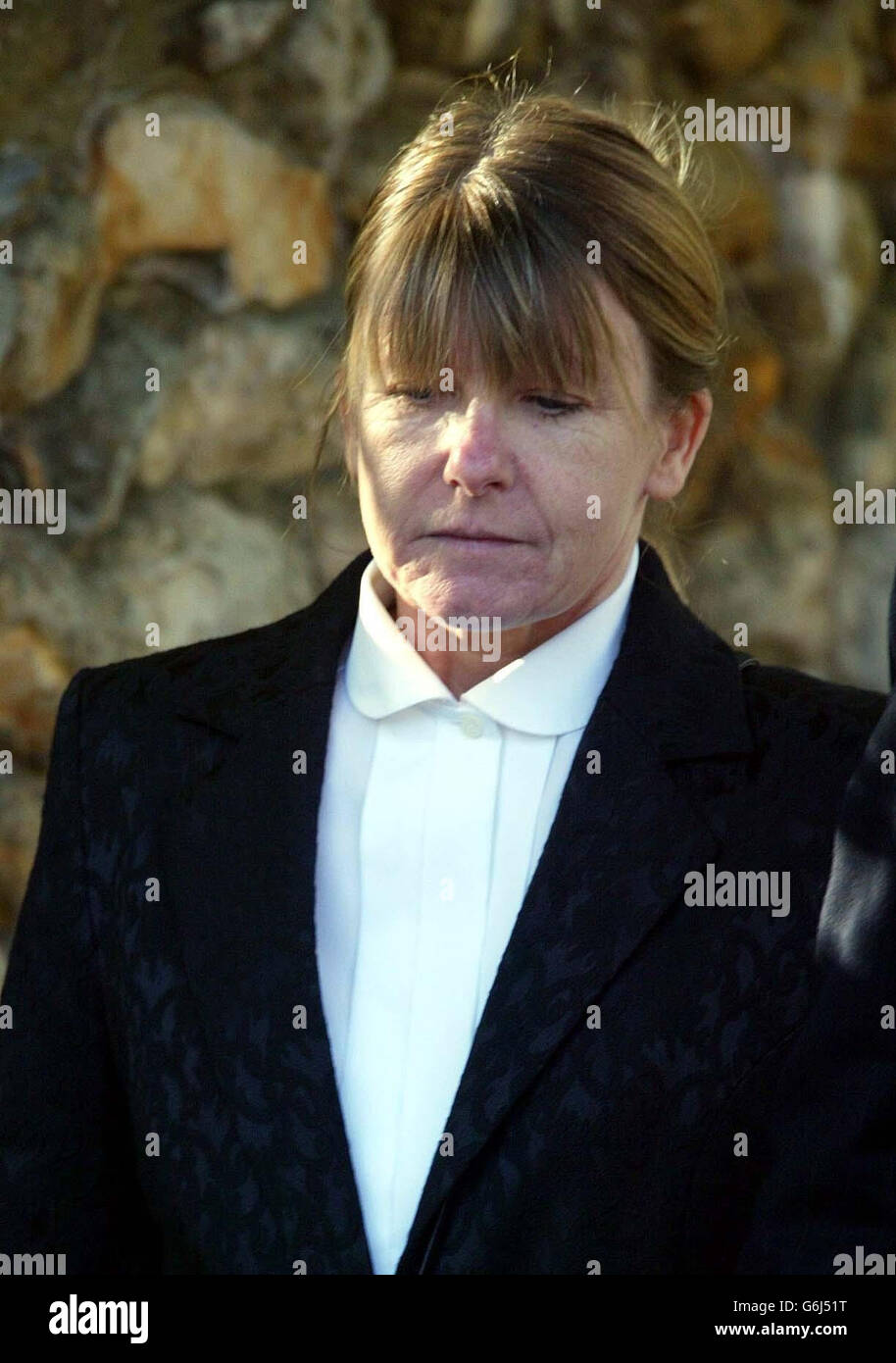 Mary Kyne suing Jim Davidson - Stock Image