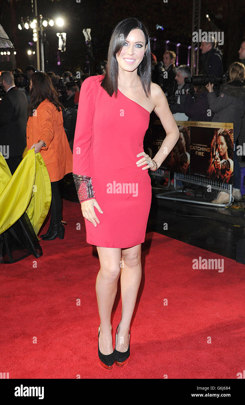 'The Hunger Games: Catching Fire' Premiere - London - Stock Image