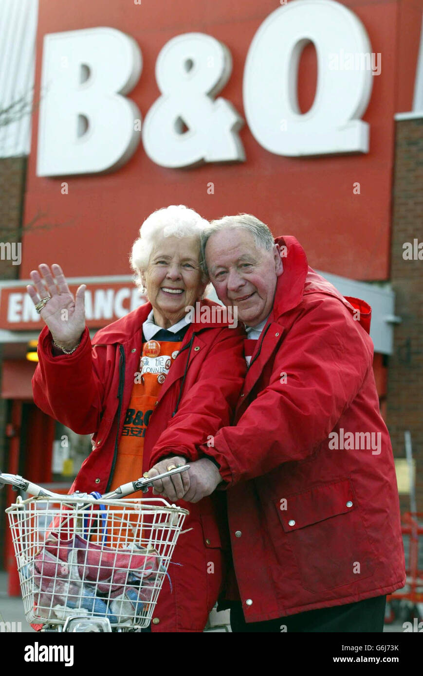SOCIAL B&Q Birthday - Stock Image