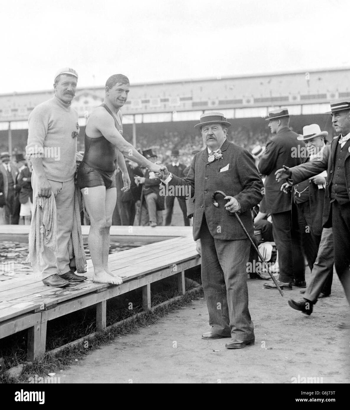 1908 Olympic Games London - Stock Image