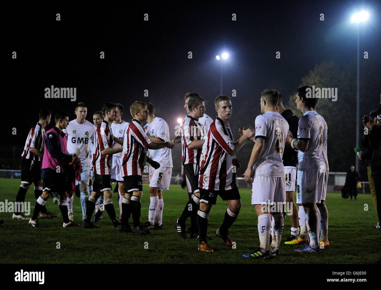 Soccer - FA Cup - First Round - Shortwood United v Port Vale