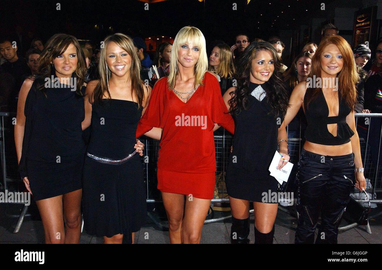 Pop Band Girls Aloud Stock Photos & Pop Band Girls Aloud