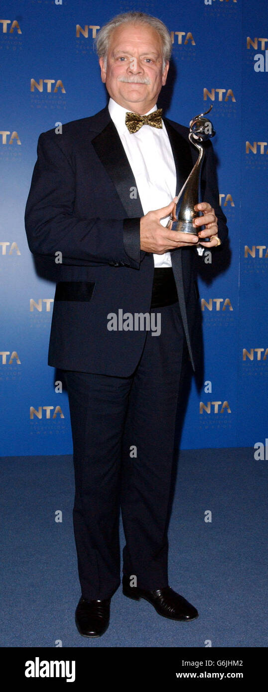 The National Television Awards 2003 - Stock Image