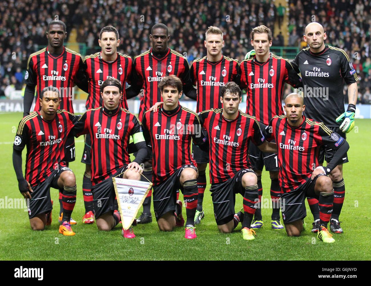 Soccer Uefa Champions League Group H Celtic V Ac Milan Celtic Stock Photo Alamy