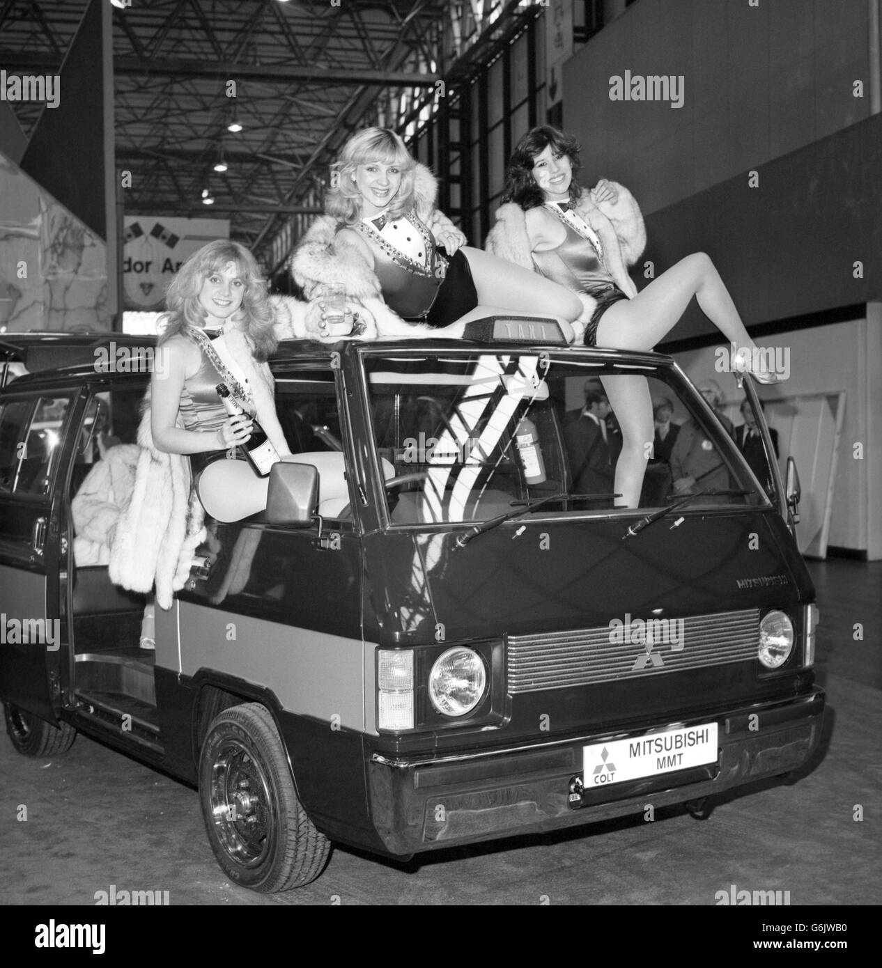 Motoring - 1980 International Motor Show - New Style Taxi Cab - Press Preview - National Exhibition Centre, Birmingham - Stock Image