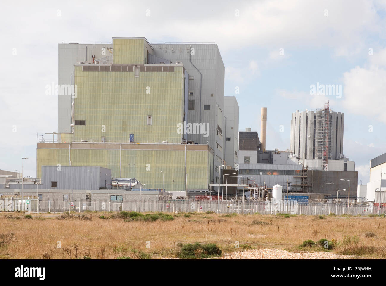 Dungeness nuclear power station in Dungeness, Romney Marsh, Kent, England. - Stock Image