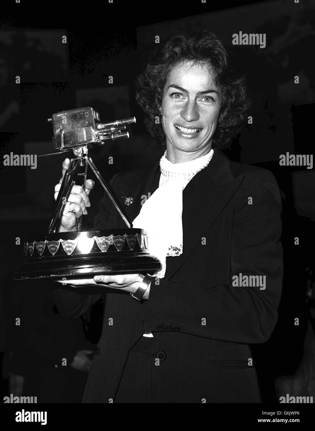 Virginia Wade BBC Television Sports Personality of the Year - Stock Image