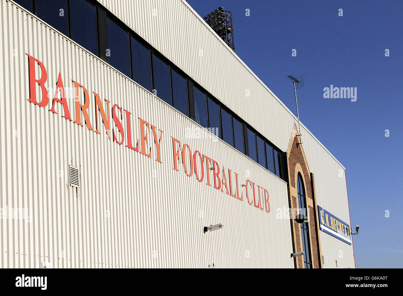 Barnsley Sign Stock Photos & Barnsley Sign Stock Images