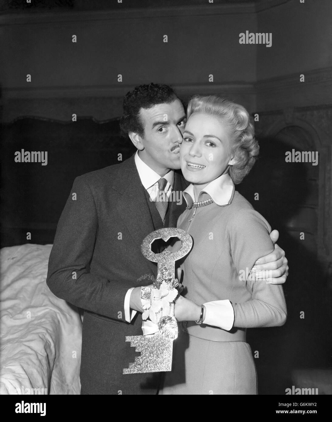 Film - George Cole - 'Will Any Gentleman?' Film Set - Elstree Studios, London - Stock Image