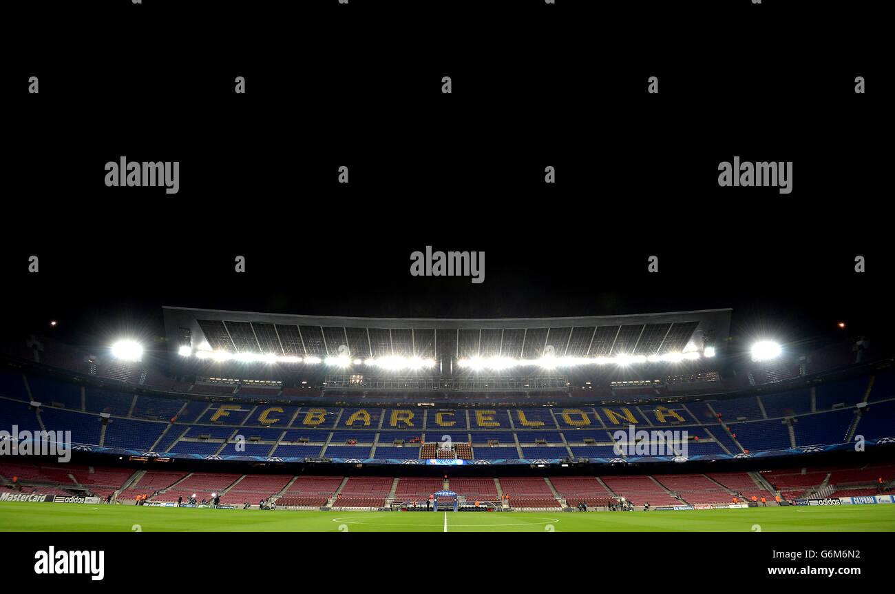 Soccer - UEFA Champions League - Group H - Barcelona v Celtic - Camp Nou - Stock Image