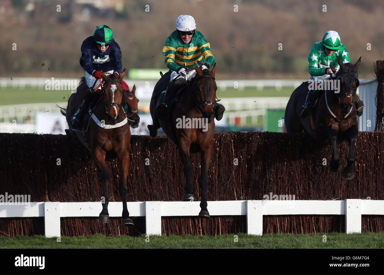 Horse Racing - 2013 The International - Day Two - Cheltenham Racecourse - Stock Image