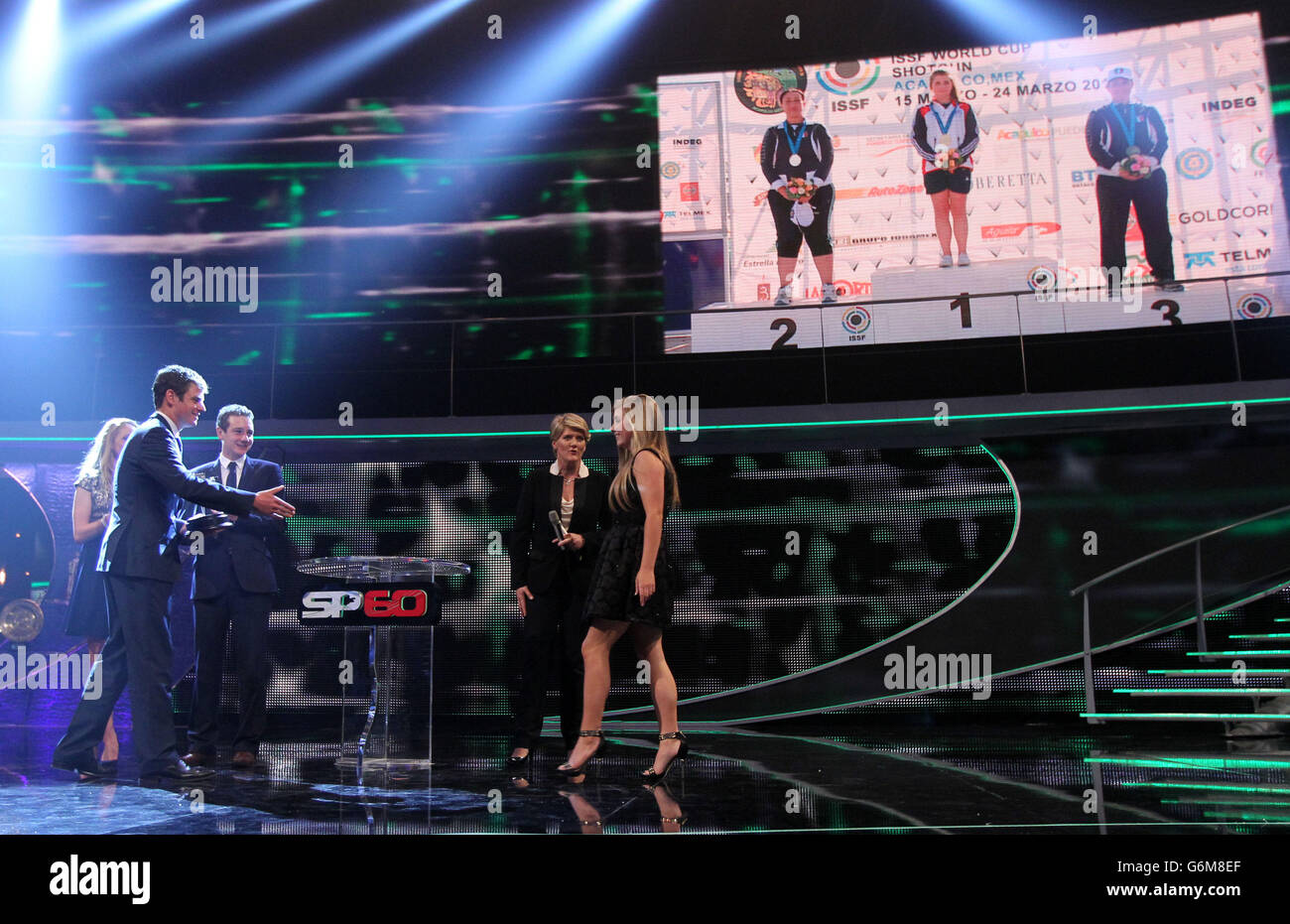 Sport - BBC Sports Personality of the Year Awards 2013 - First Direct Arena - Stock Image