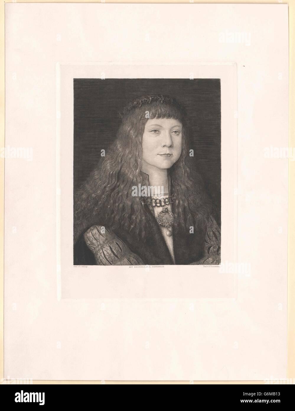 Ludwig II., König von Ungarn Stock Photo