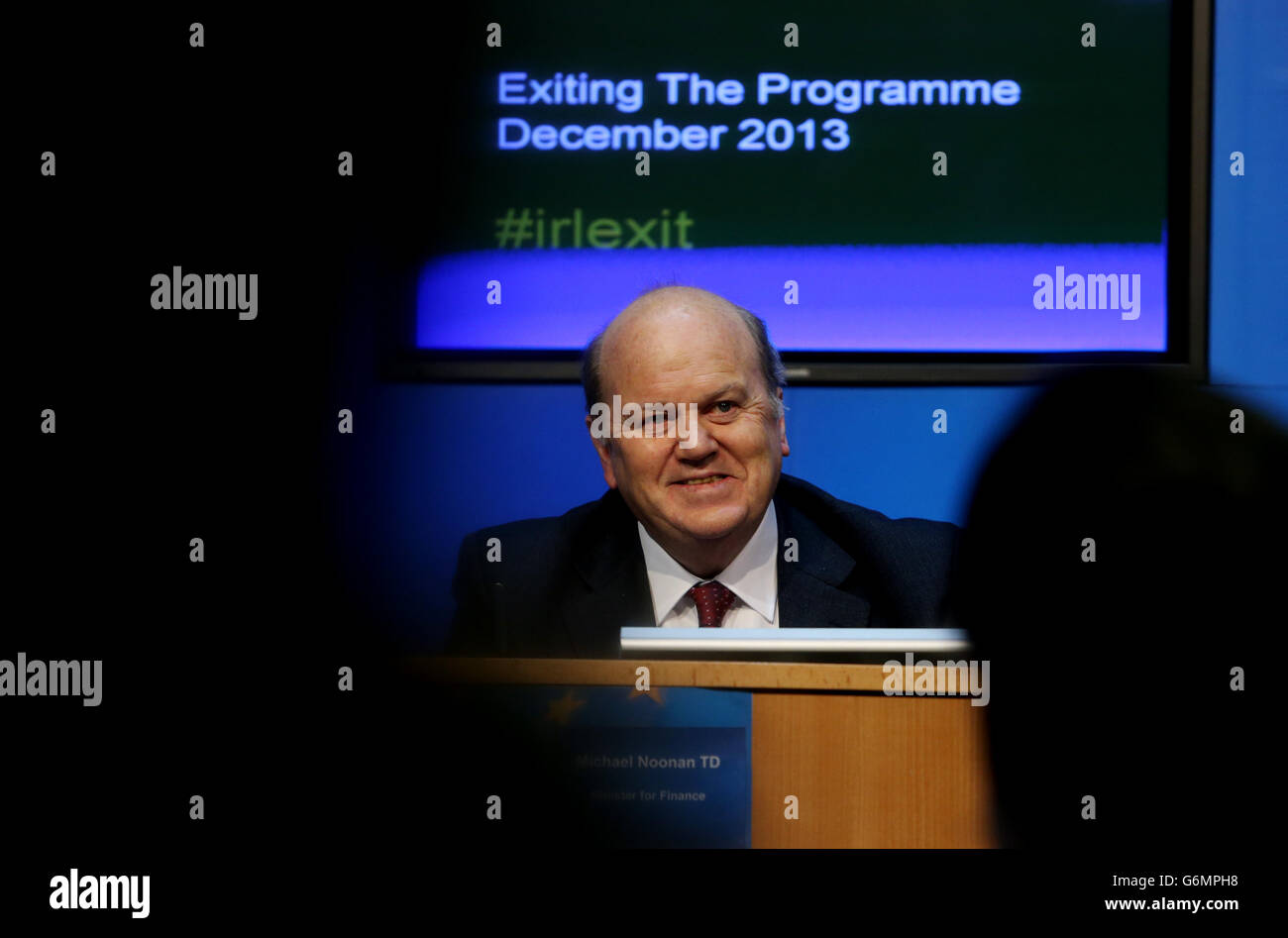 Ireland's bailout programme - Stock Image