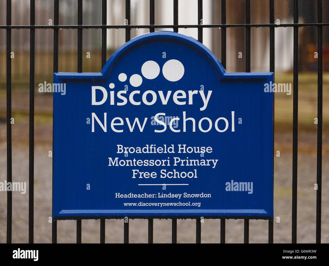 Failing Free School ordered to shut - Stock Image