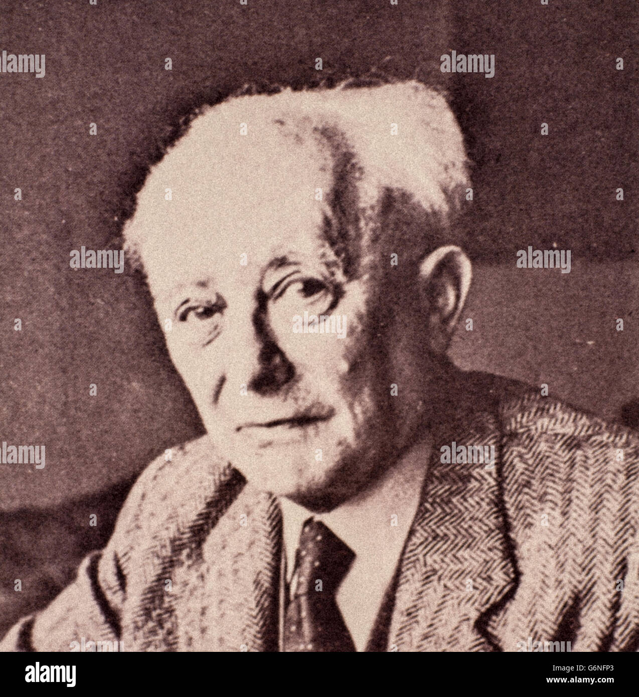 Max Born (Wroclaw, December 11, 1882 - Göttingen, January 5, 1970) was a German physicist and mathematician - Stock Image