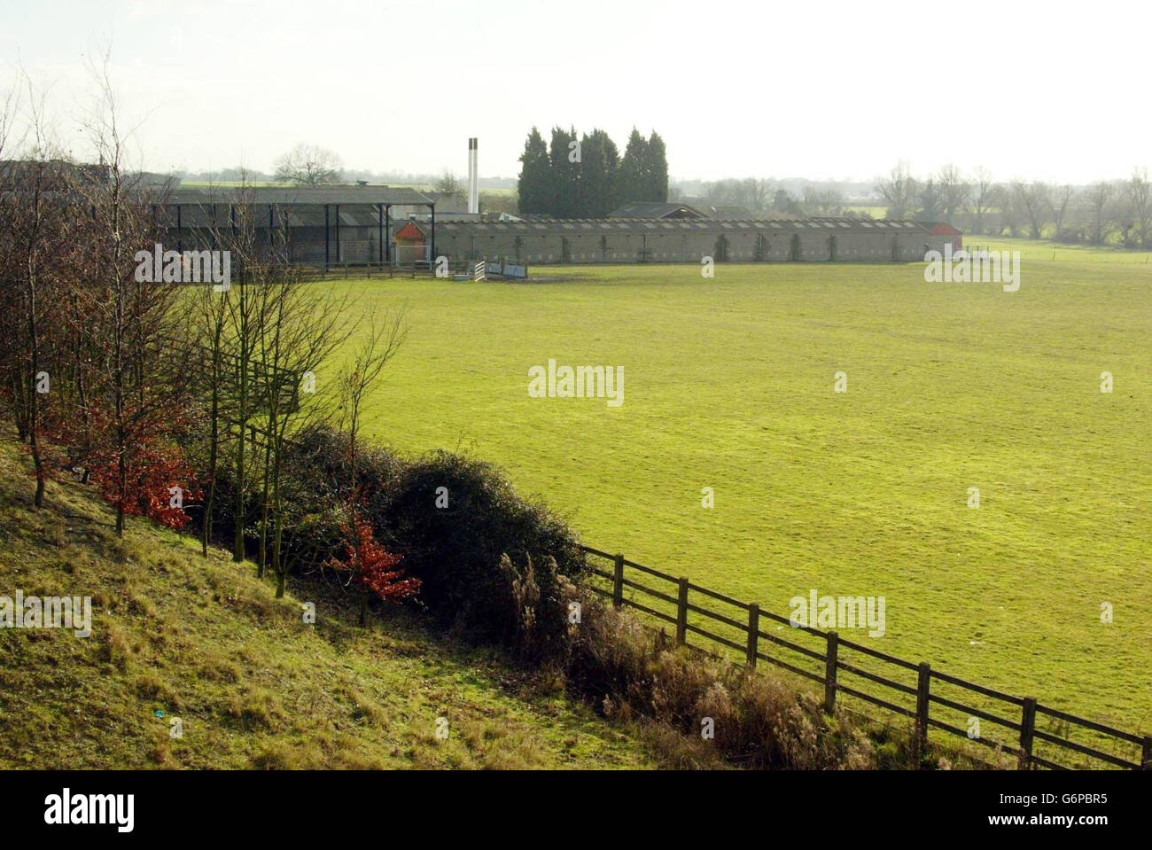 Land earnmarked for research centre - Stock Image
