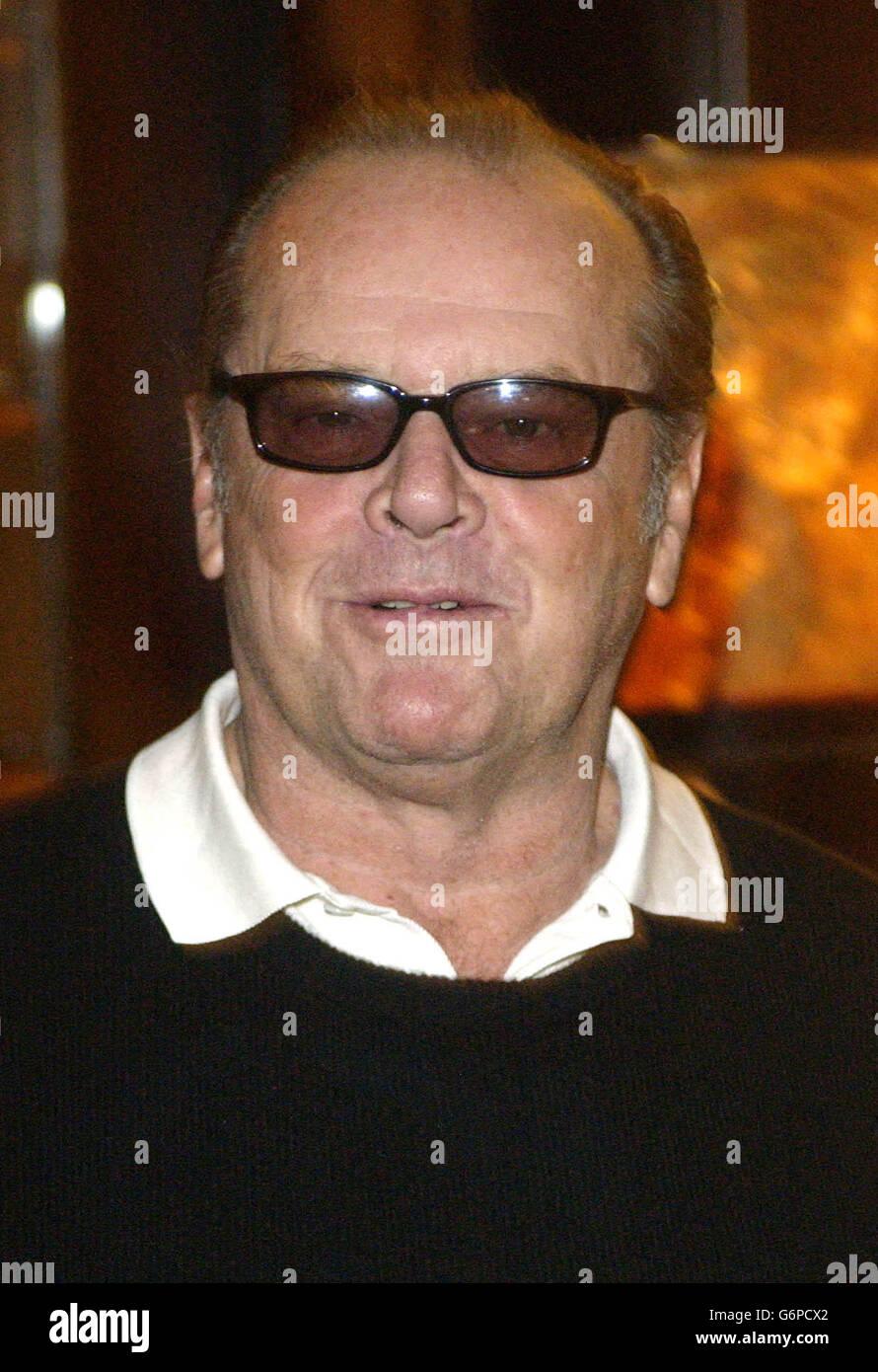 Jack Nicholson Something's Gotta Give - Stock Image