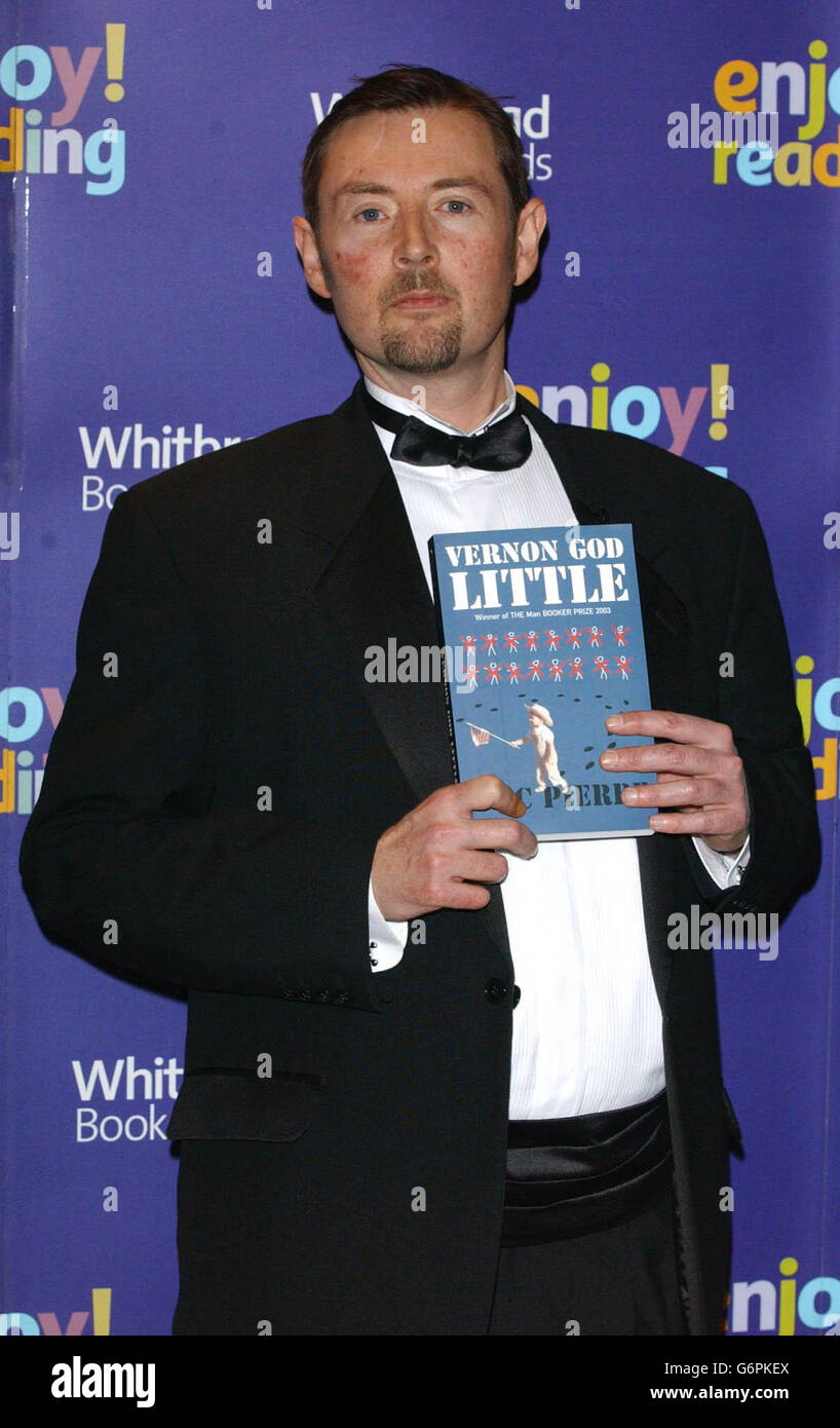 The Whitbread Awards 2003 - Stock Image