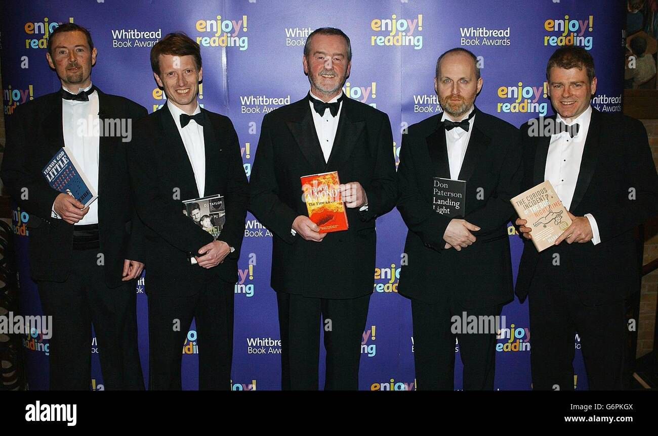 The Whitbread Book Awards 2003 - Stock Image
