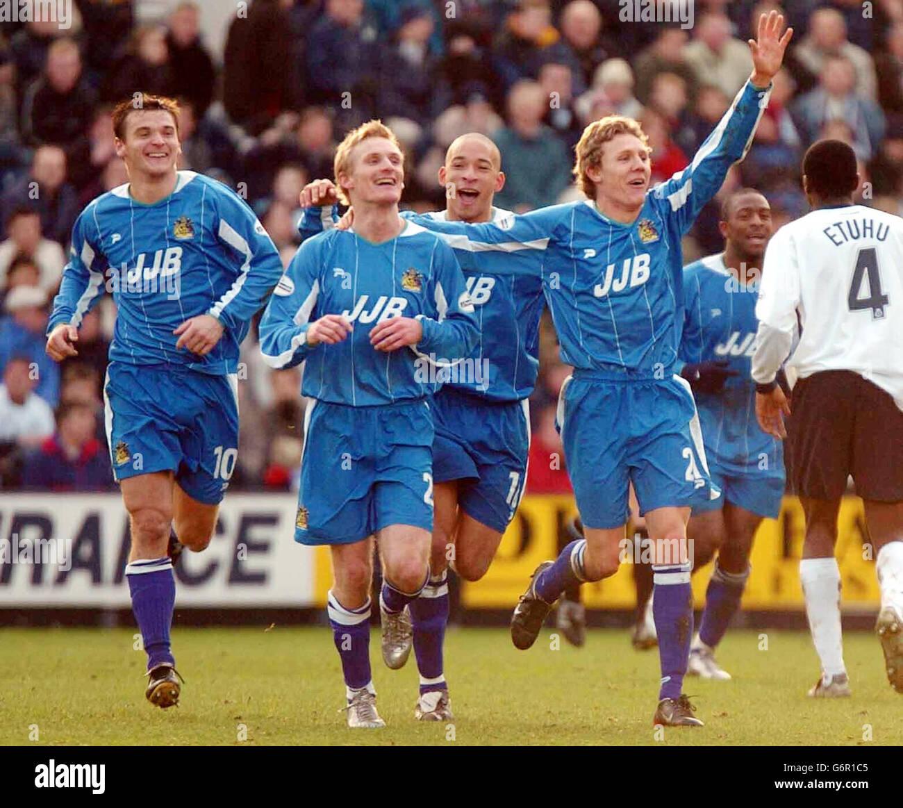 Preston North End v Wigan Athletic - Stock Image