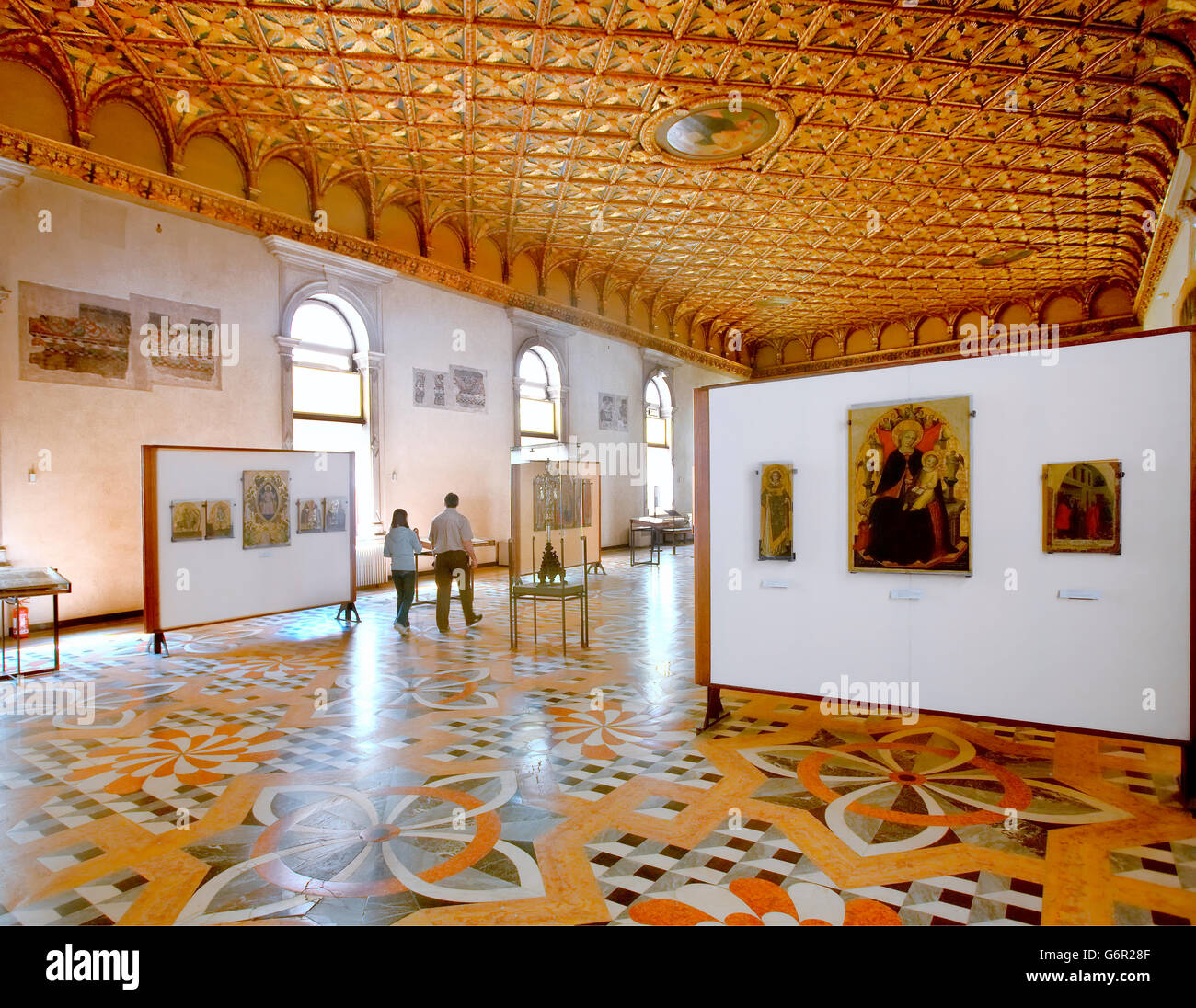 Accademia Gallery in Venice - Stock Image