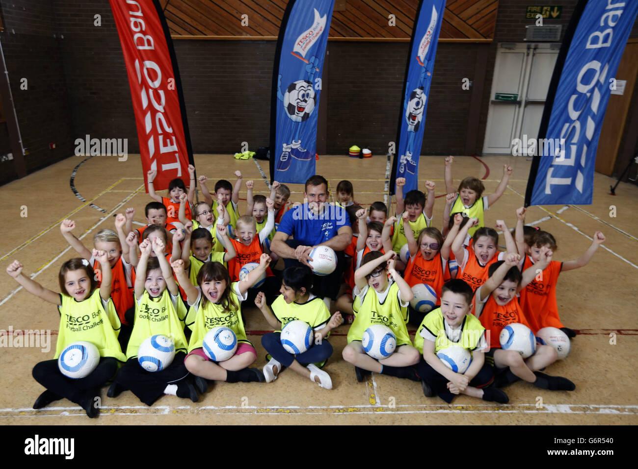 Soccer - Jordan Rhodes Unveiled as Tesco Bank Community