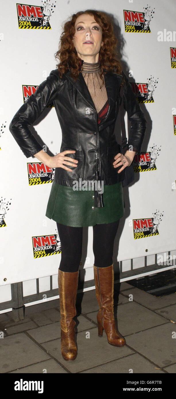 Ex Smashing Pumpkins member Melissa Auf Der Maur - Stock Image