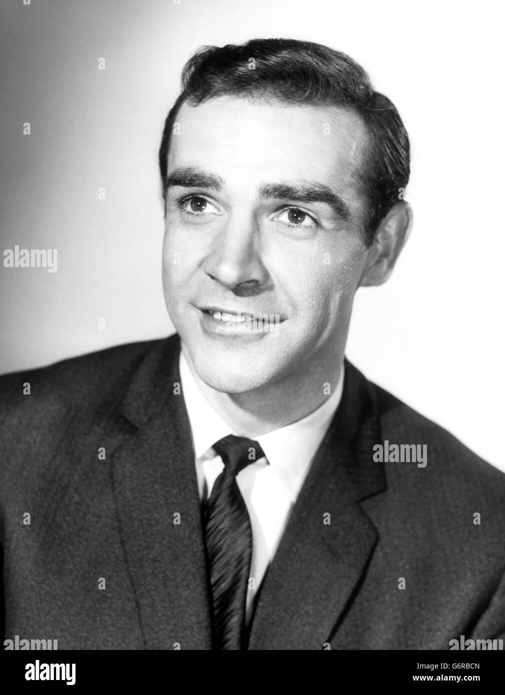 Film Sean Connery To Play James Bond Stock Photo Alamy