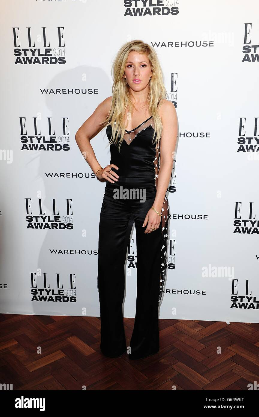 Elle Style Awards 2014 - London - Stock Image