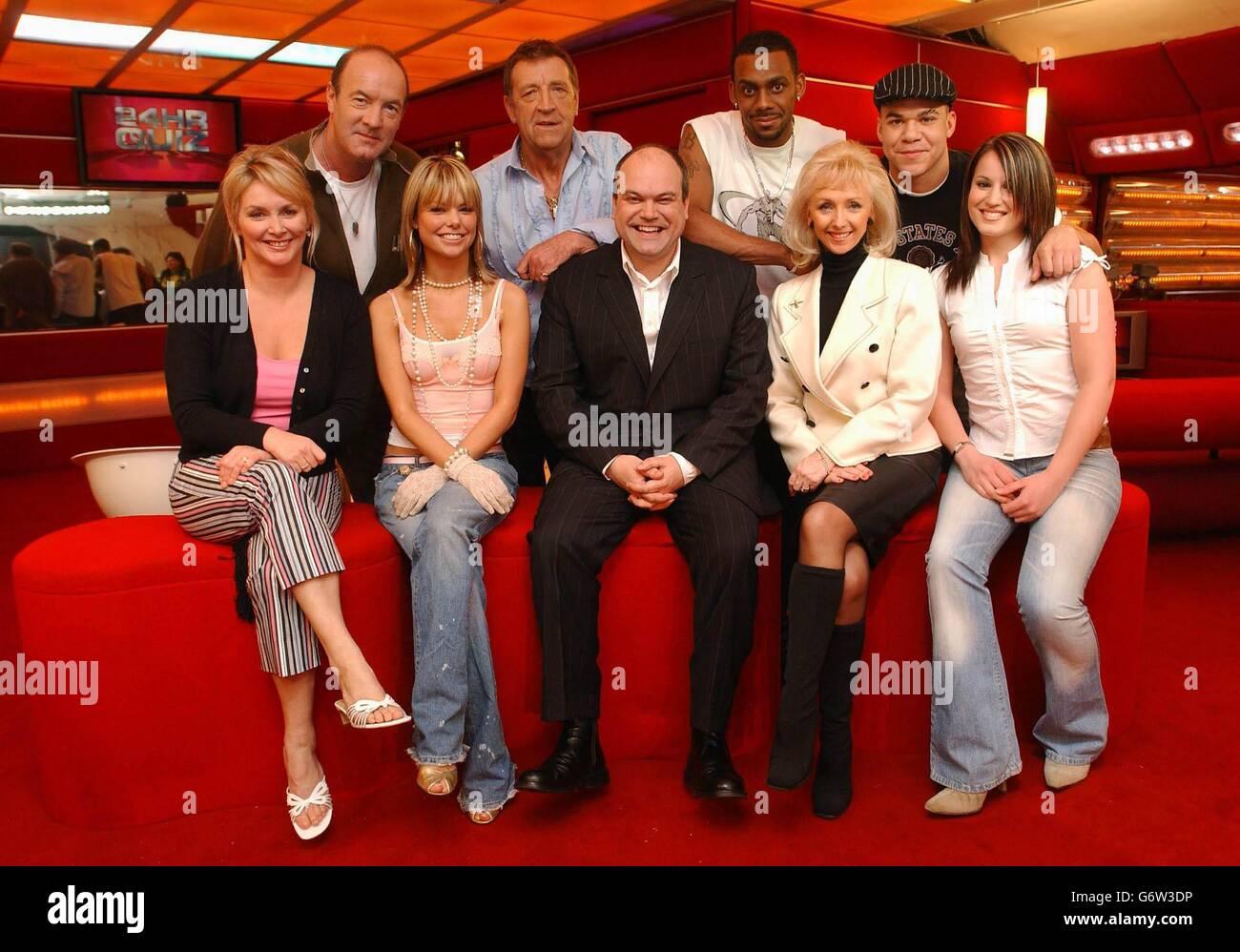 ITV Celebrity 24 Hour Quiz Stock Photo - Alamy