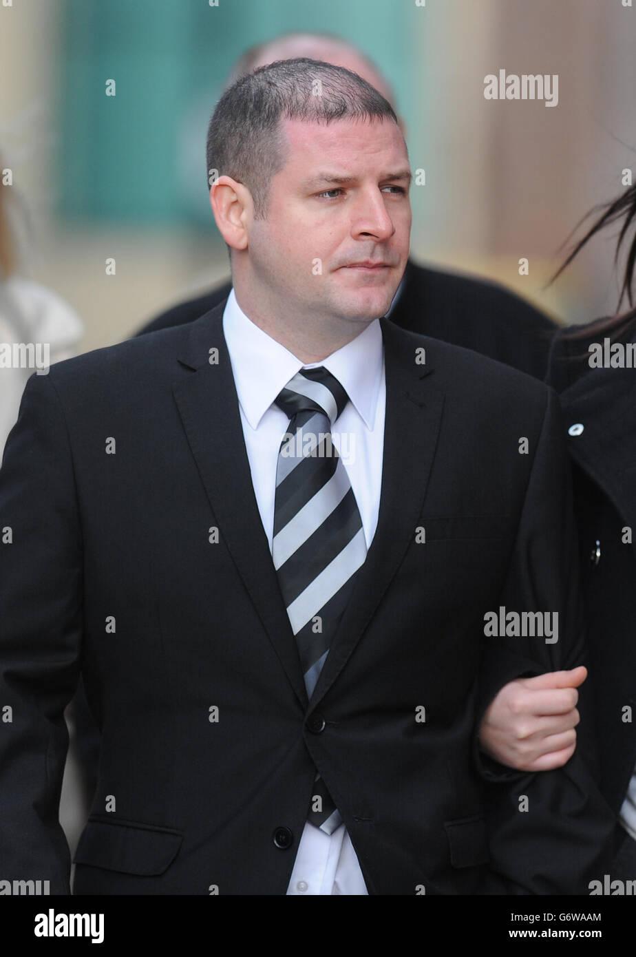 Clive Mantle court case - Stock Image