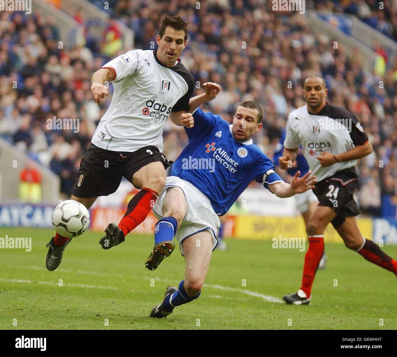 LEICESTER CITY V FULHAM Stock Photo - Alamy