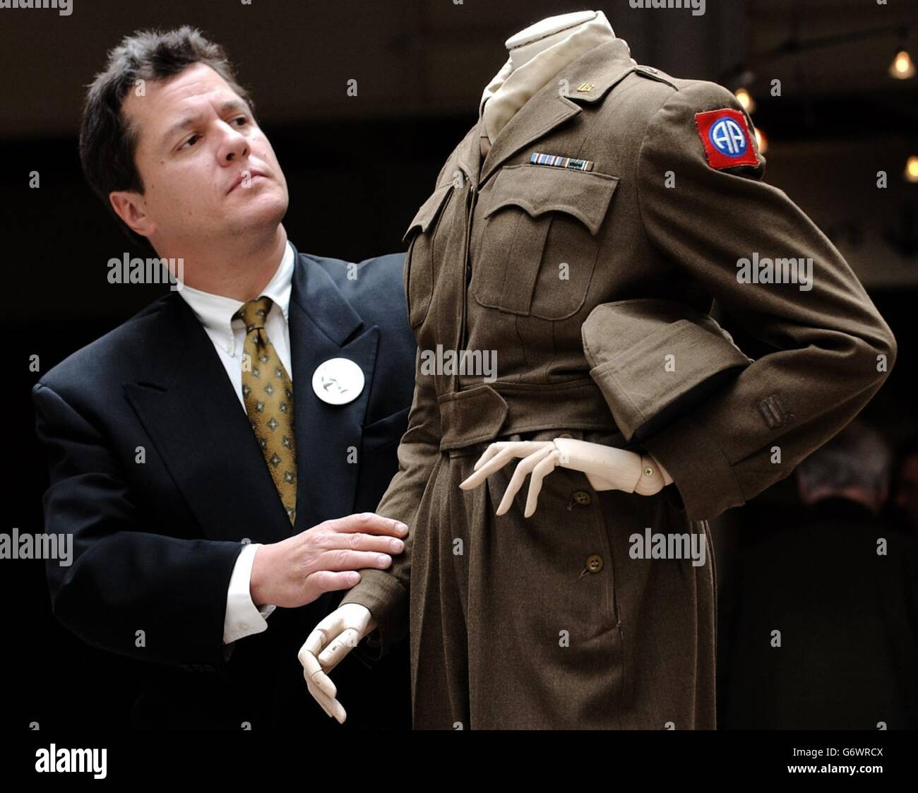 Dietrich uniforms at the Imperial War Museum - Stock Image