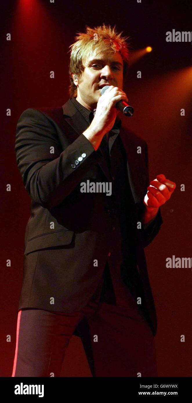 Duran duran singer admits to new photo