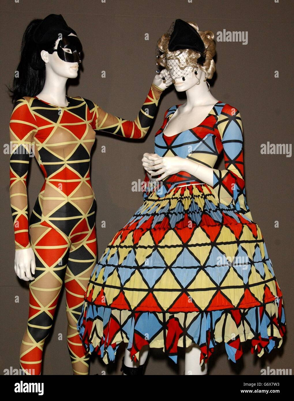Vivienne Westwood Exhibition Stock Photo Alamy