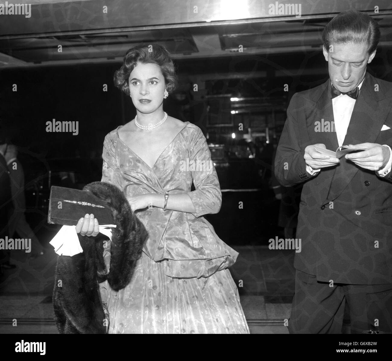 Film Premiere - Earl and Countess of Harewood - Columbia Theatre - Shaftesbury Avenue, London - Stock Image
