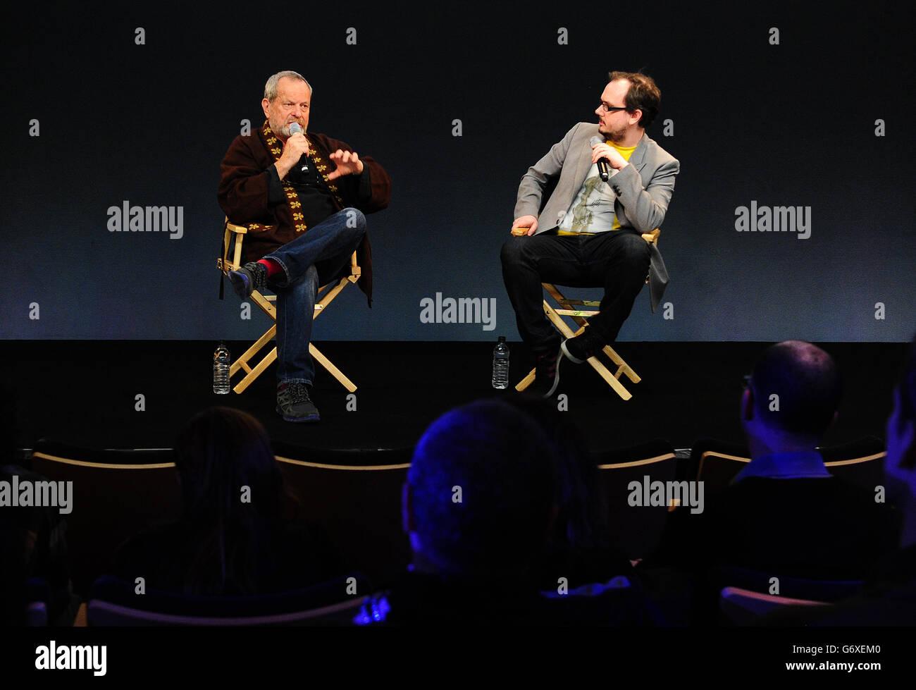 Terry Gilliam - London - Stock Image