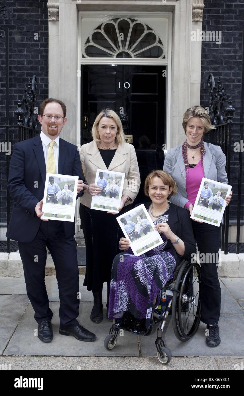 'Tackling Physical Inactivity - A Coordinated Approach' report launch - Stock Image