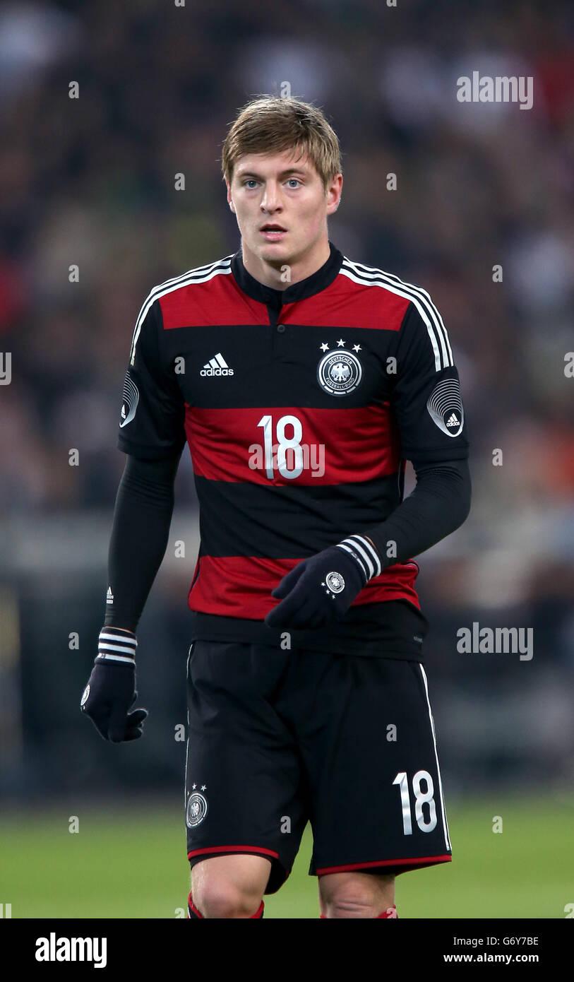 Soccer International Friendly Germany V Chile Mercedes Benz Stock Photo Alamy