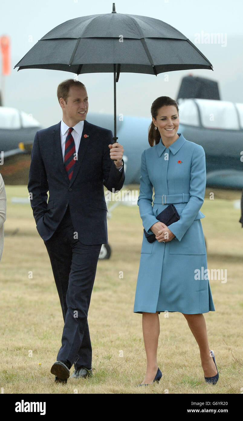 Royal visit to Australia and NZ - Day 4 - Stock Image