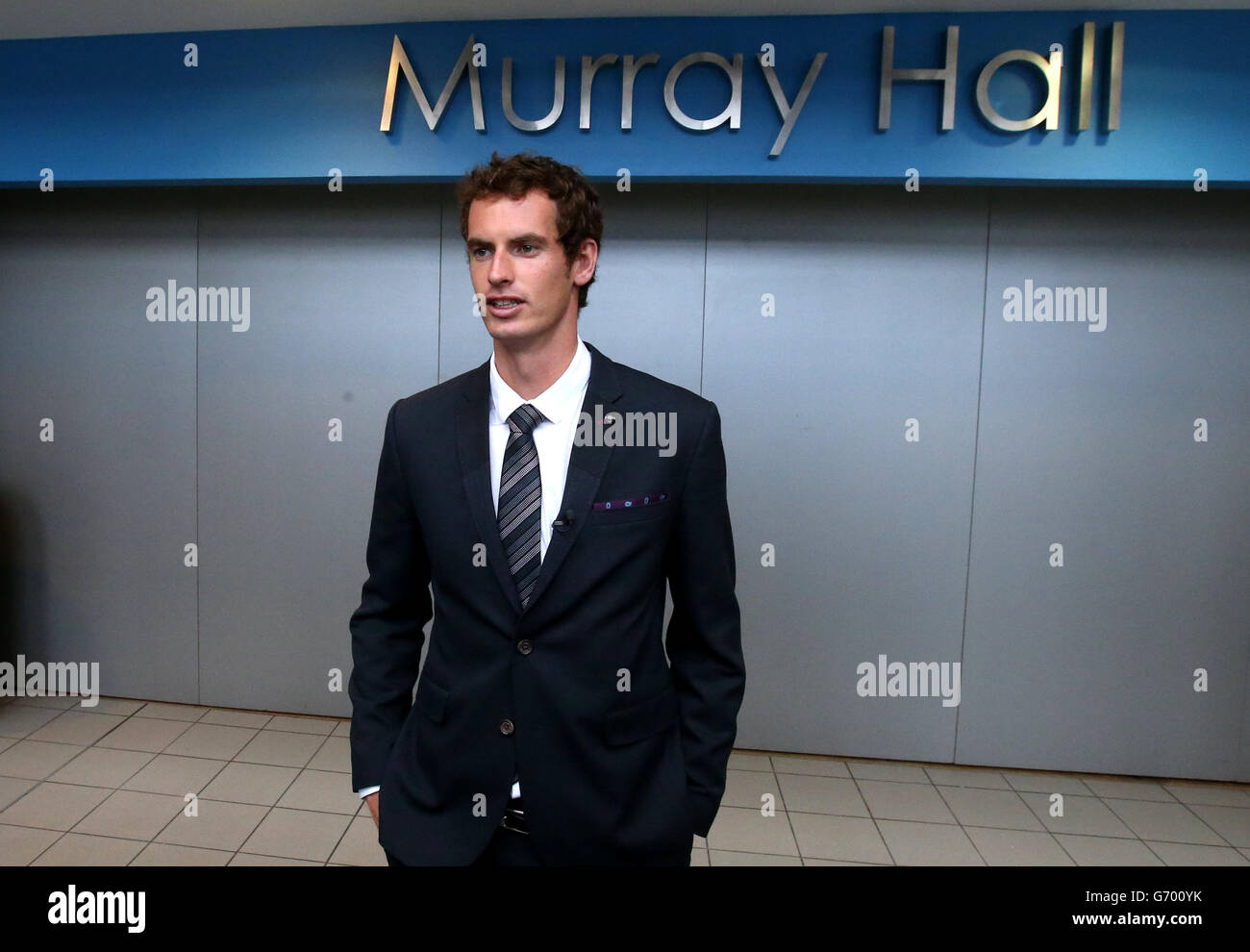 Andy Murray honouredStock Photo
